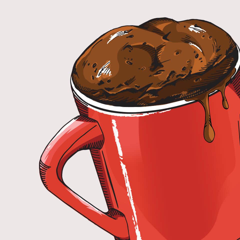 Mug Cake Package